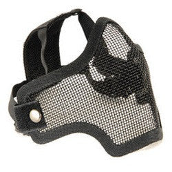 Tactical Metal Mesh Half Mask