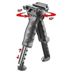 Tactical Bipod Pivoting Foregrip (2nd Generation)