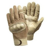 Tan Hard Knucle Gloves