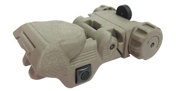 CXP REAR SIGHT (DESERT)