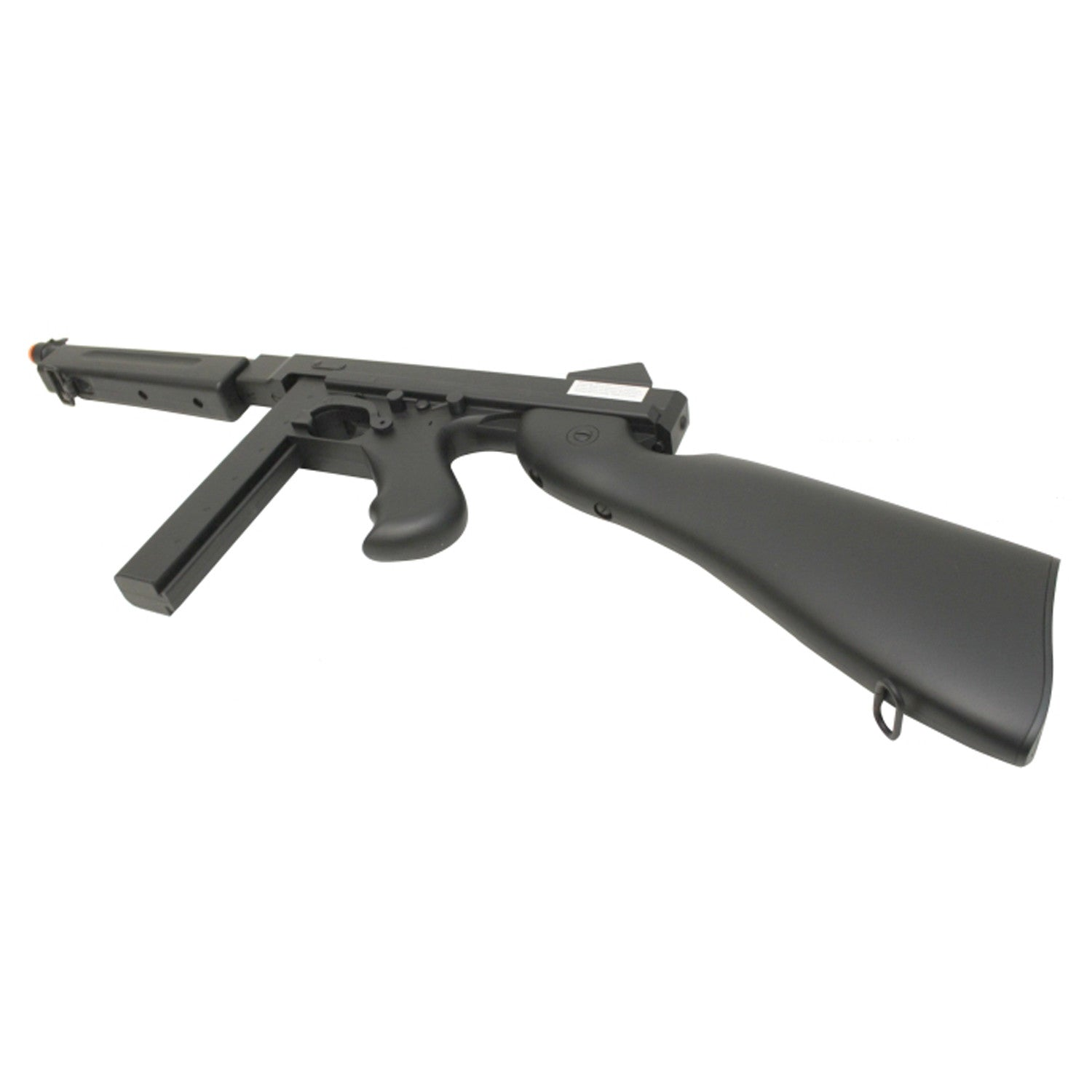 Black Thompson M1A1 with Stick Mag