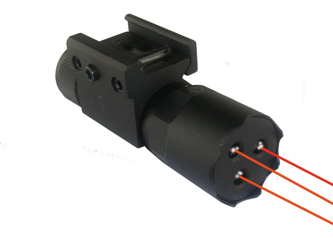 Tri-Beam Red Laser for Pistol and Rifle with Pressure ...