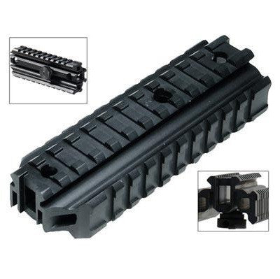 TriRail AR15 Carry Handle Three Rail See Thru Mount
