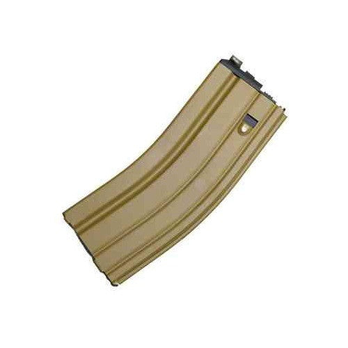 WE M4 Open Bolt Gas Airsoft Magazine Tan