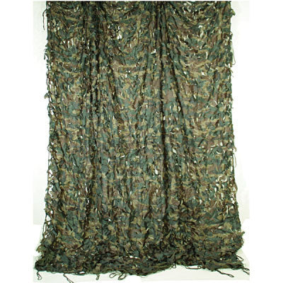 Woodland Camo Netting