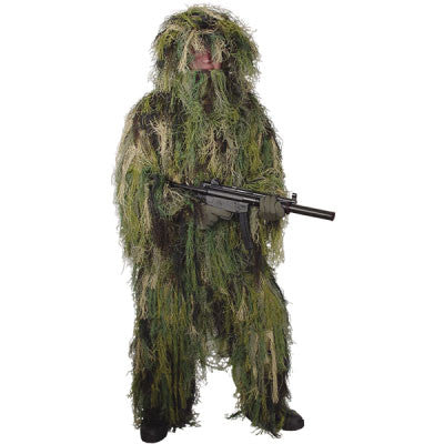 Woodland Camo Ghillie Suits