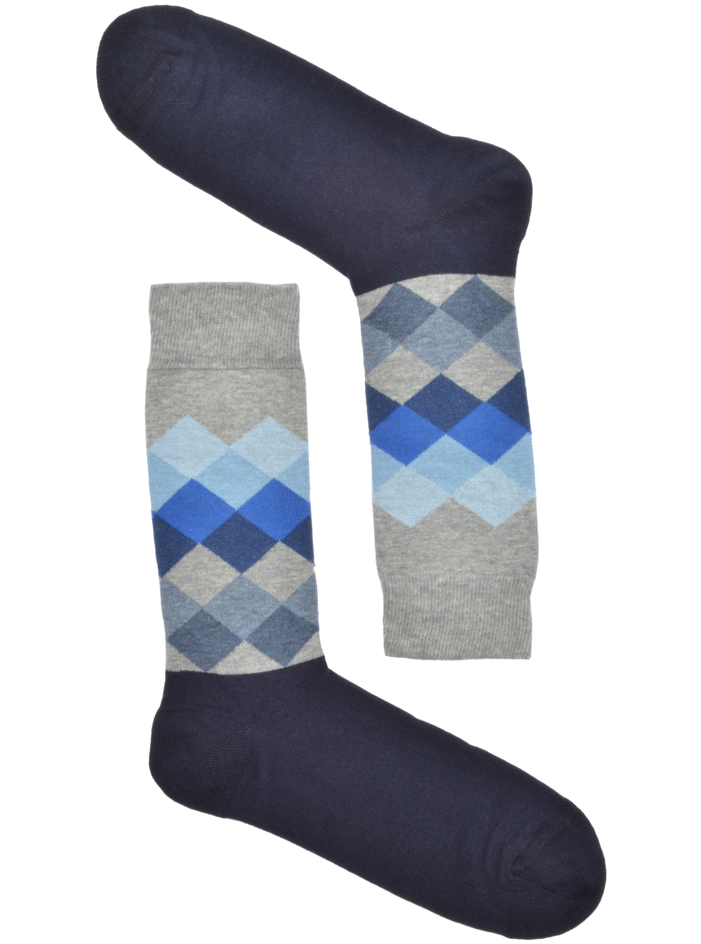 M. Grey-Navy Argyle - Spazio