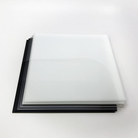 "Acrylic 8"" x 8"" Multi-color pack (3mm thick)"
