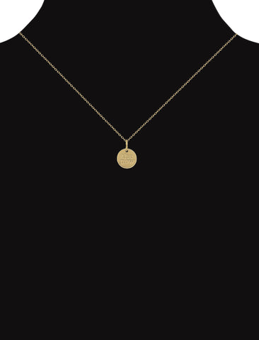 elevate double-sided pendant necklace