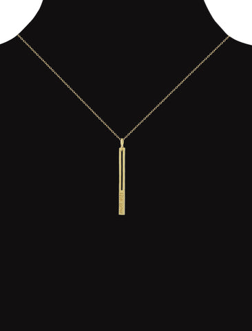 raise the bar pendant necklace