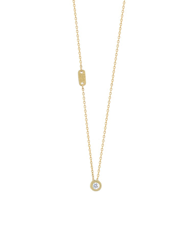 shine on diamond necklace