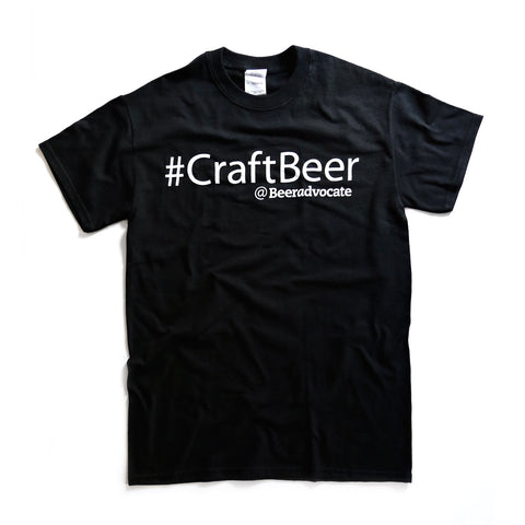 #CraftBeer Tee (Size Medium Only)