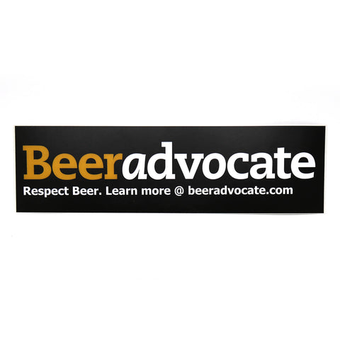 BeerAdvocate Bumper Sticker (Old-School)