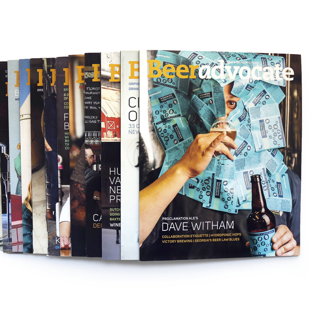 Subscribe to BeerAdvocate magazine