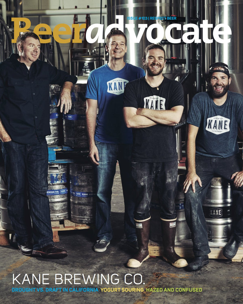 BeerAdvocate magazine #103 (August 2015)