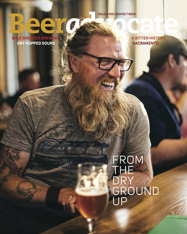 BeerAdvocate magazine #105 (October 2015)