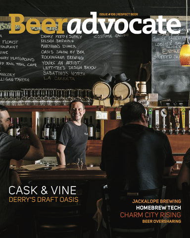 BeerAdvocate magazine #106 (November 2015)