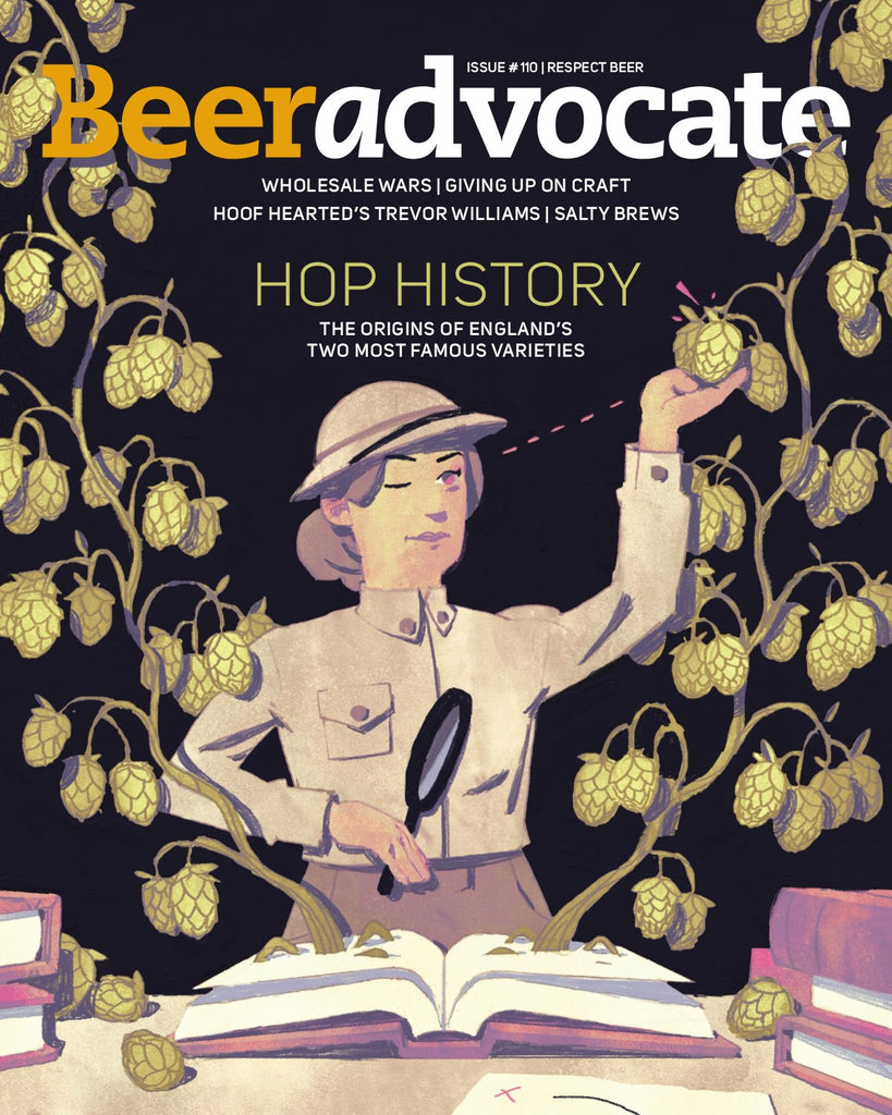 BeerAdvocate magazine #110 (March 2016)