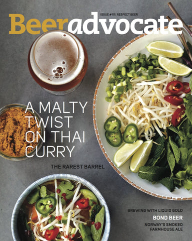 BeerAdvocate magazine #111 (April 2016)
