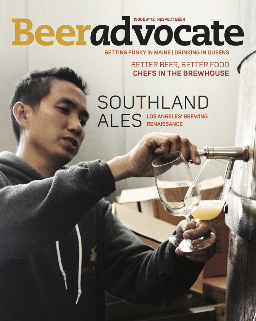 BeerAdvocate magazine #112 (May 2016)