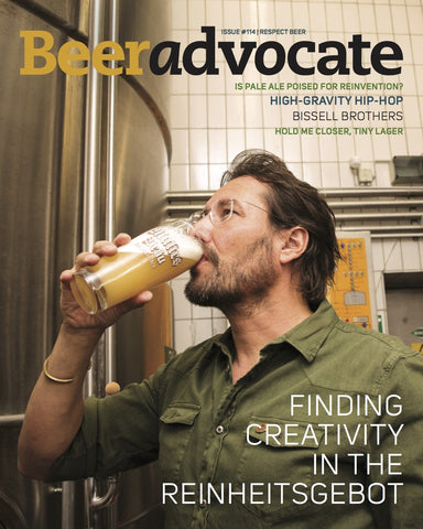 BeerAdvocate magazine #114 (July 2016)