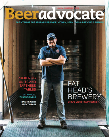 BeerAdvocate magazine #118 (November 2016)