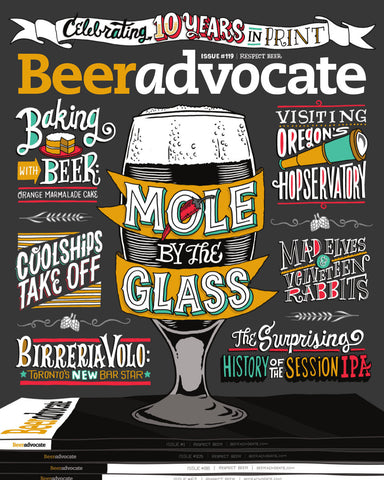 BeerAdvocate magazine #119 (December 2016)