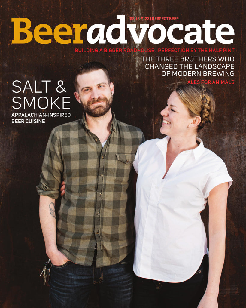 BeerAdvocate magazine #123 (April 2017)
