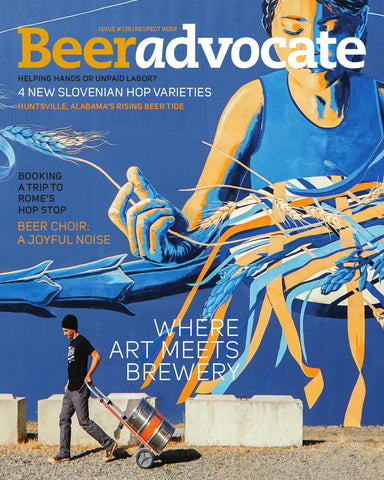BeerAdvocate magazine #129 (October 2017)