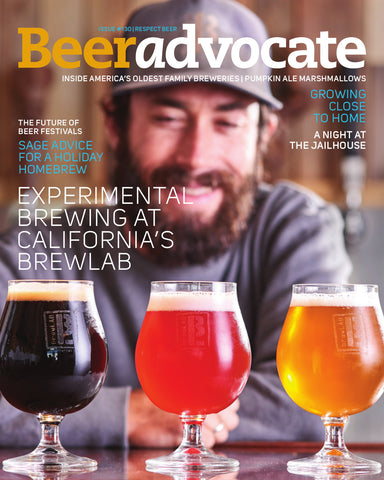 BeerAdvocate magazine #130 (November 2017)