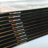 Stack of BeerAdvocate magazines
