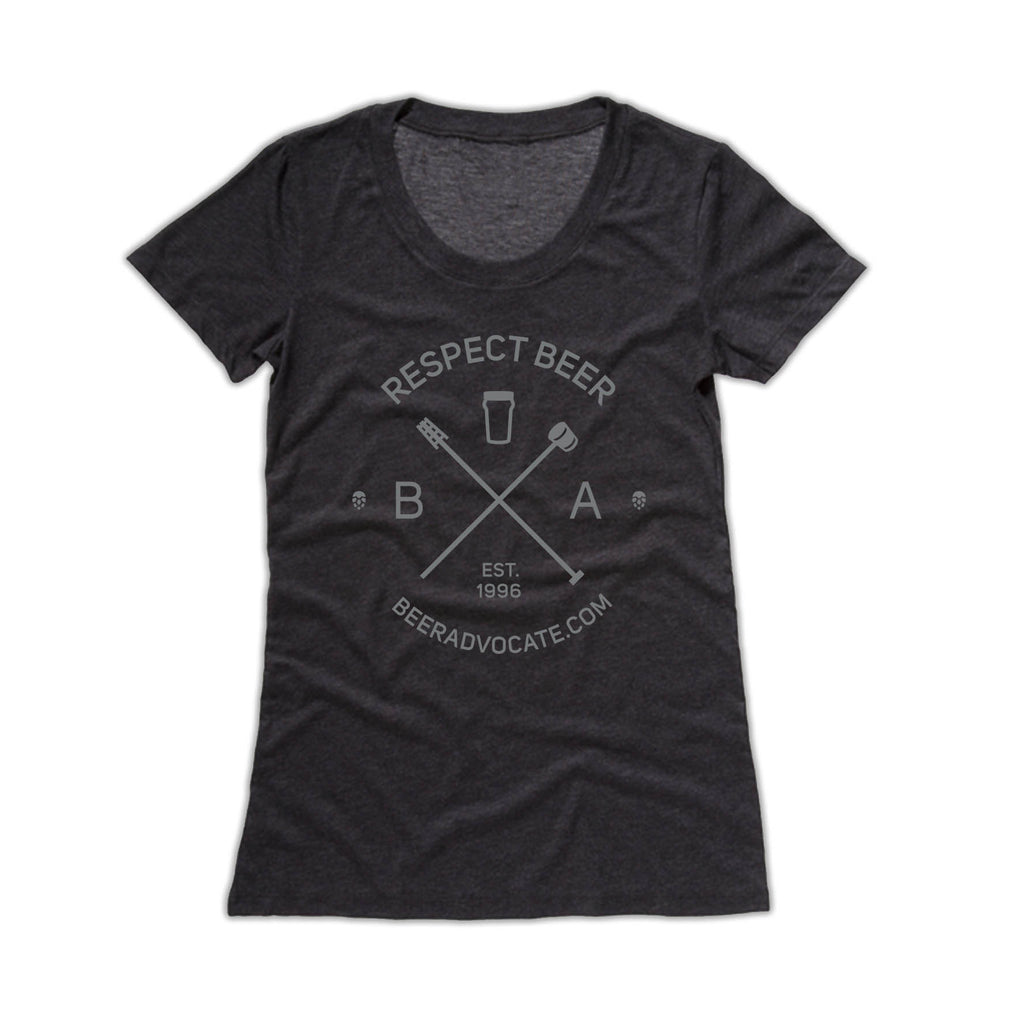 "Respect Beer ""Hipster"" Tee (Womens)"