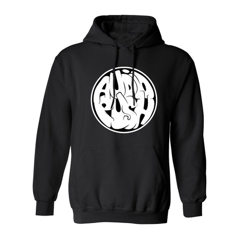 Audio Push Logo Hooded Pullover Sweatshirt