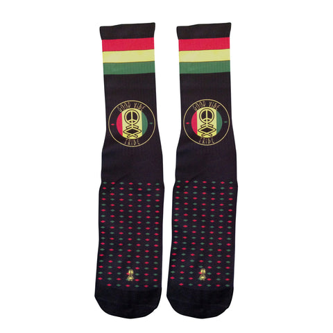 Audio Push Good Vibes Tribe Socks in Black