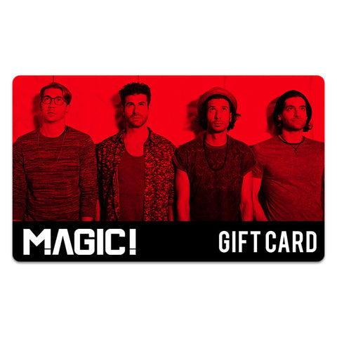 MAGIC! Gift Card