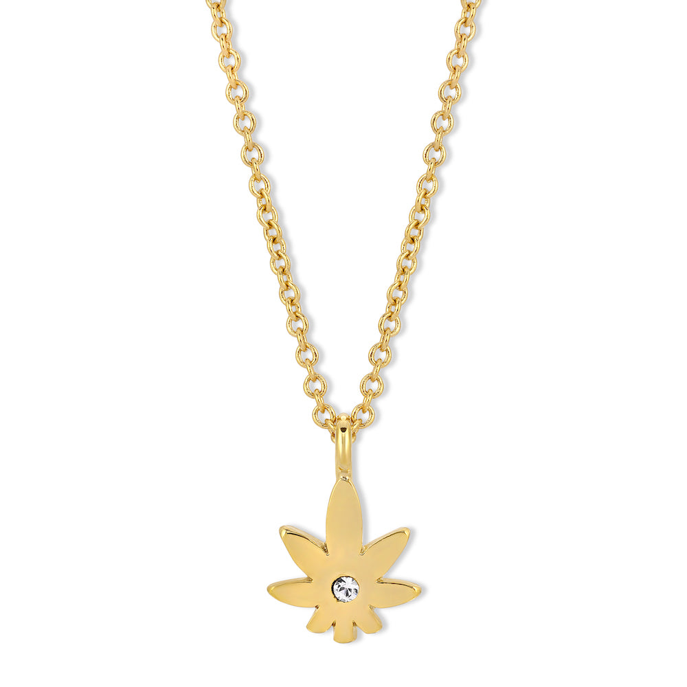 Sweetest Leaf Necklace