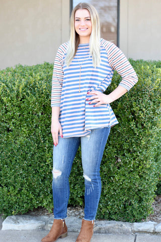 *Happy Stripes Top