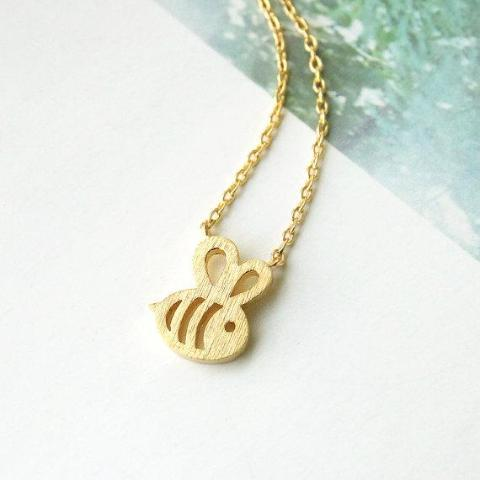 Cute Honeybee Necklace - Propolis Tea Co.