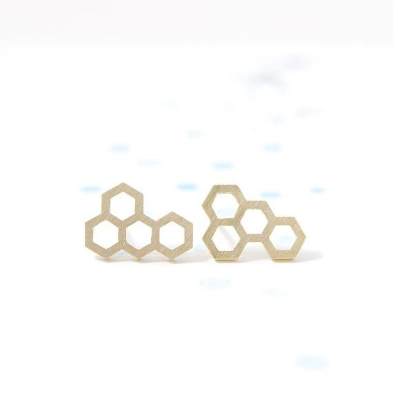 Honeycomb Earring - Propolis Tea Co.