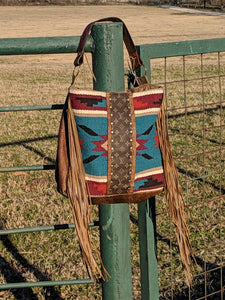 Saddle Blanket Tote