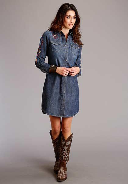 OOOHHHH Denim Dress