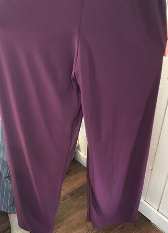 Purple Tank Top Jumpsuit