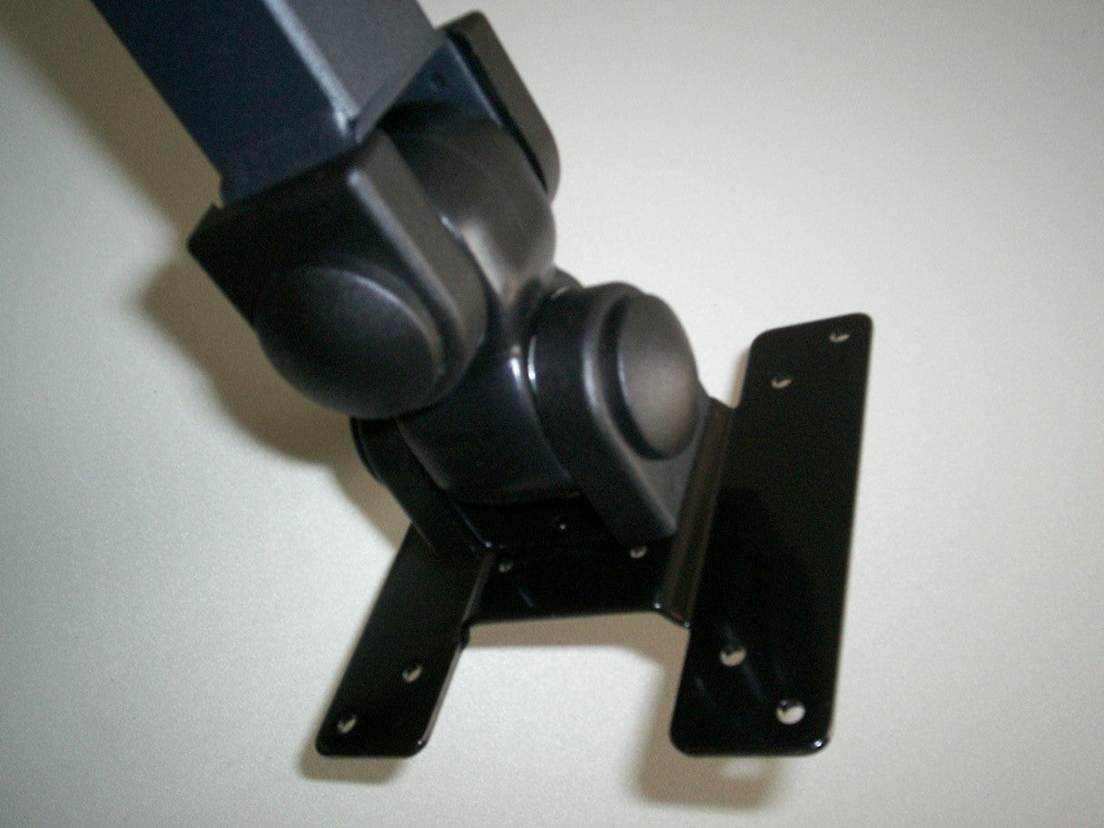 View of the 2 articulations on the CUZZI DW120 Wall Mounted Monitor Arm