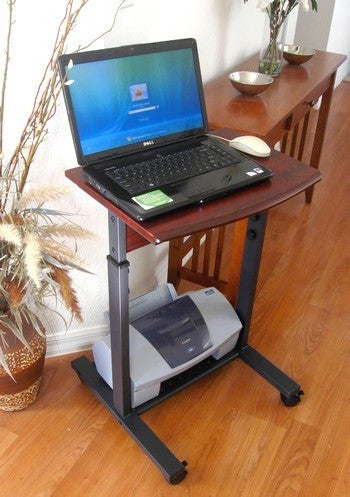 "S2015 20"" Wide Height Adjustable Portable Laptop Table"