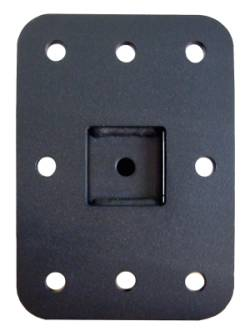 "wall Base for CUZZI 12"" Long Monitor Wall Mount VESA 100 x 100 Black"