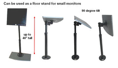 D254180 TV ceiling stand can also be used as a floor stand