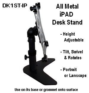 Attach an IPad to your Monitor VESA Desk Stand