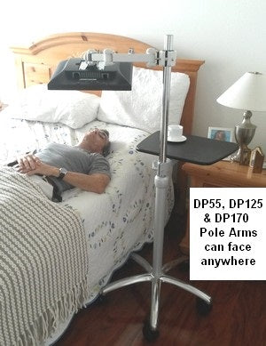 CUZZI Pole Monitor Arm can face in all diections