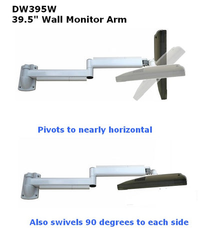 DW395W-39-inch-long-monitor wall-arm-watch-tv-in-bed