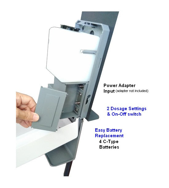 Touchless Automatic Hand Sanitizer Floor Stand Height Adjustable. Hand Sanitizer Floor Stand. Autiomatic Floor Stand Dispenser for hand Sanitizer & Soap. touchless hand Sanitizer Station. Commercial Floor Hand Sanitizer Stand for Restaurants, Churches, Schools, Lobbies